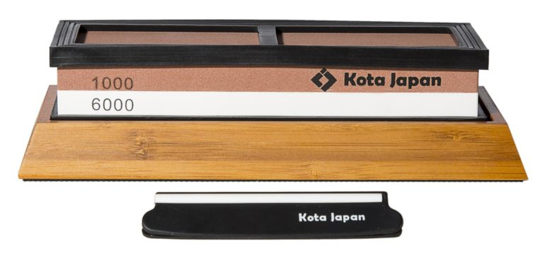 1000-6000 Grit Premium Sharpening Whetstone with Bamboo Base