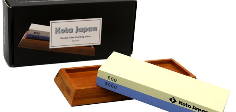 600-3000 Grit Premium Sharpening Whetstone with Bamboo Base